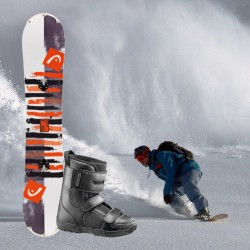 Adult snowboard package