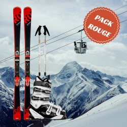 Red man ski package