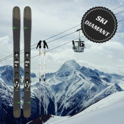 Diamond mens ski