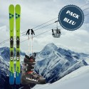 Blue Man ski package