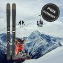 Pack complet ski diamant homme