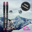 Diamond woman ski package