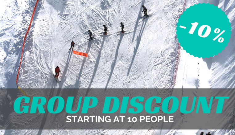 Discount for groups