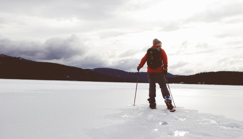 Snowshoe rental packs