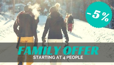 Chamonix ski hire - Family offer