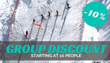 Chamonix ski hire - Group discount